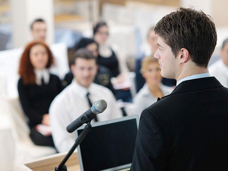 سخنرانی به زبان انگلیسی