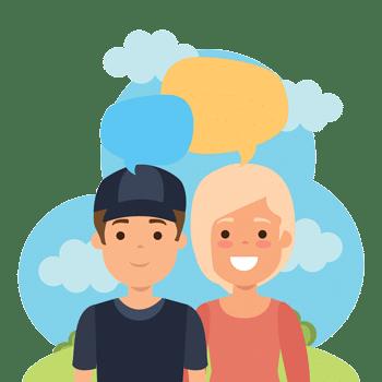 دوره مکالمه بزرگسالان