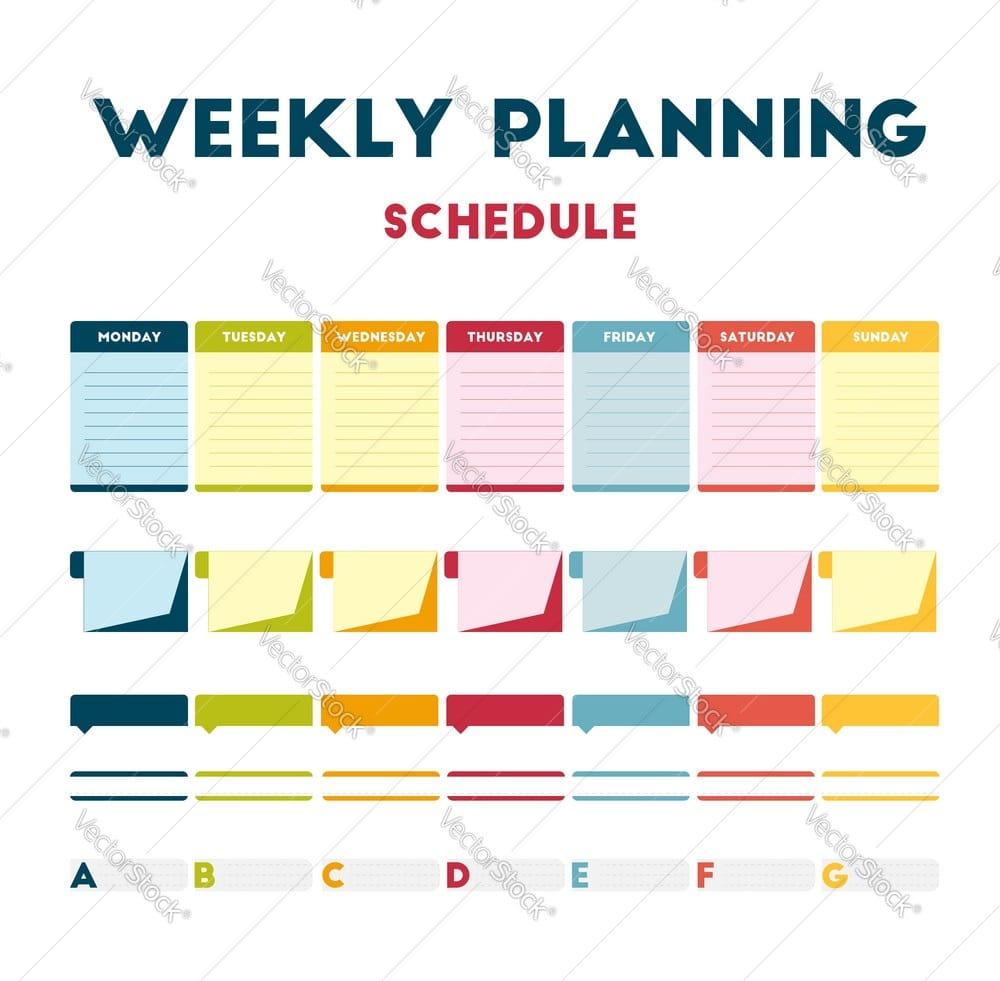 برنامه ریزی هفتگی برای ایلتس